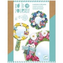Do It yourself - Mosaiq et autocollants , 3 miroirs à décorer