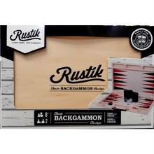 Valise de bois - Backgammon