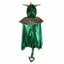 Cape de dragon vert (3-4ans)