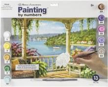 Peinture à Numéros - Veranda sur le lac