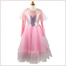 Robe de Princesse Luna rose (5-6ans)