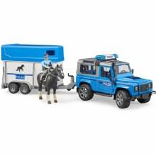Land Rover Police - Horse trailer