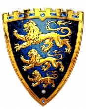 Bouclier - Roi Triple Lions
