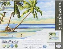 Peinture à Numéros - Tropical View