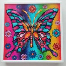 Jacarou Diamants - Cadre Mona Papillon