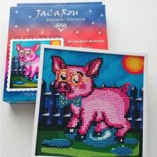 Jacarou Diamants - Cadre Rosario Cochon