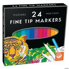 24 marqueurs Pointes Fine