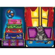 Jacarou Diamants - Chat dans la valise