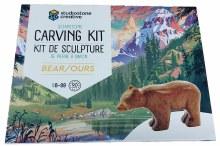 Sculpture de pierre à savon - Ours