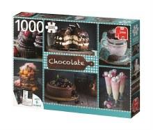 Casse-tête 1000 mcx - Chocolat + 6 recettes