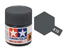 Peinture Tamiya - X-10 Gun Métal