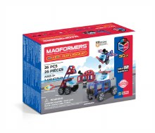 Magformers 26mcx - Amazing police & Rescue