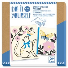 Do It yourself - Carnet et cahier à broder