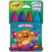 4 Craies pour trottoir - Verry Berry