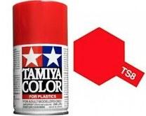 Peinture Tamiya - TS-8 Rouge
