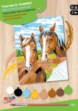 Peinture à numéros jr. - Cheveux