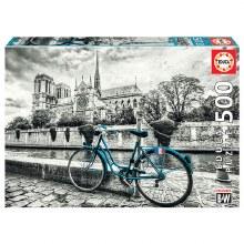 Casse-tête 500 mcx - Bicyclette Près de Notre-Dame