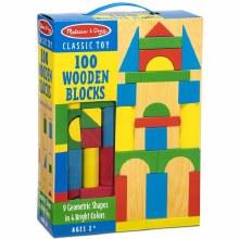 100 Blocs en bois
