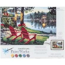 Peinture à Numéros - Soirée d'Adirondack