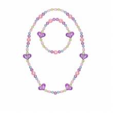 Colier & Bracelet - Coeurs