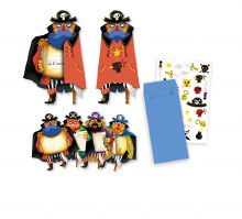 Cartes d'invitation - Pirates