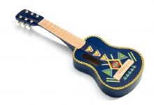 Guitar avec 6 corde en metal