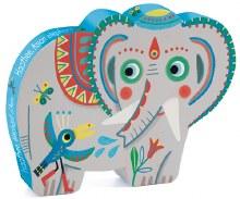 Casse-tête, 24 mcx - Elephant d'asie