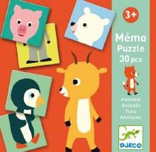 Memo animo-Puzzle