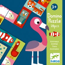 Domino - Puzzle Animaux