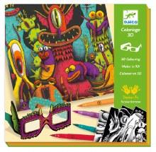 Feutres pinceaux - Funny Freak 3D