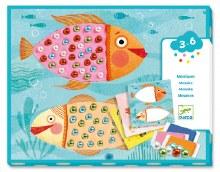 Collages pour les petits - Mosaiques Perles
