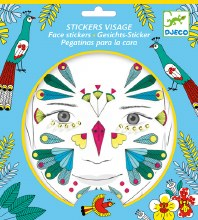 Stickers visage - Oiseau