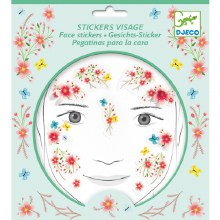 Stickers visage - Fée du printemps