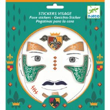 Stickers visage - Chevalier