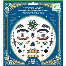 Stickers visage - Tête de mort