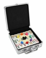 Malette de dominos mexicain (Double 12 numérique)