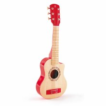 Guitare Rouge Flame