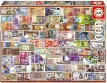 Casse-tête 1000 mcx - Billets du monde