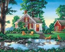 Peinture à Numéros - Cottage d'été