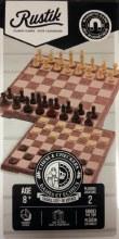 2 en 1 Jeu d'échecs et de dames