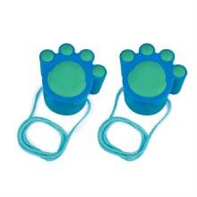 Marche du chat bleu