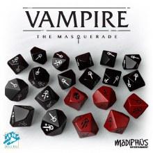 Vampire The Masquerade - Dice set  (5ème éd.)