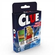 Clue le jeu de carte