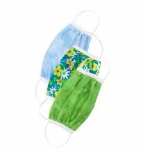 Ensemble 3 masque de protection pour enfant - Fleurs