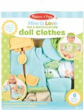 Vêtement de poupée Vert