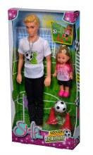 Steffi - Kevin à l'Entrainement de Soccer