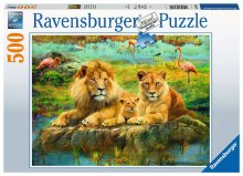 Casse-tête, 500 mcx - Lions dans la Savane