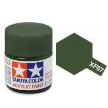 Peinture Tamiya - XF-67 Nato Green