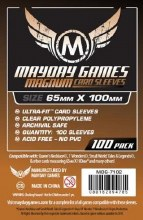 100 Protecteurs de cartes - 65mm x 100mm