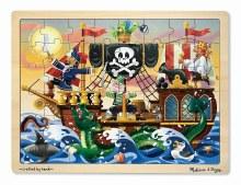 Casse-têtes en bois, 48mcx - Pirates
